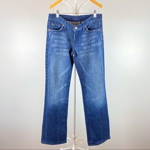 7 For All Mankind Womens Bootcut Jeans Size 28